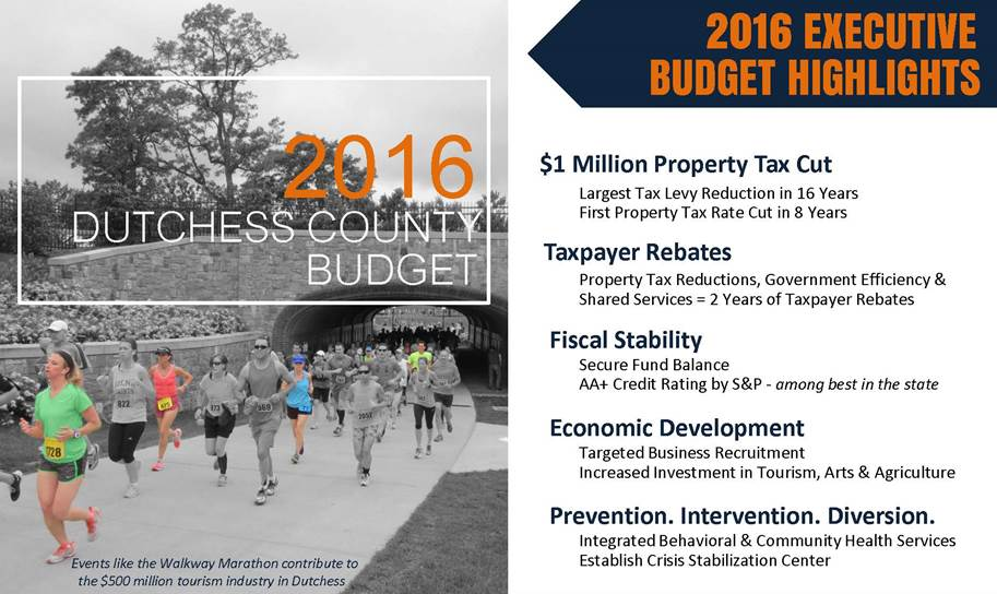 2016 Dutchess County Budget - Highlights