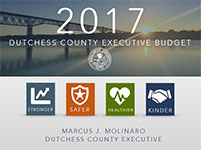 Cover Image - 2017 Dutchess County Executive Budget