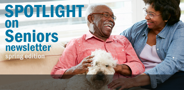 Office for the Aging's Spotlight on Seniors Newsletter, Spring 2014 Edition
