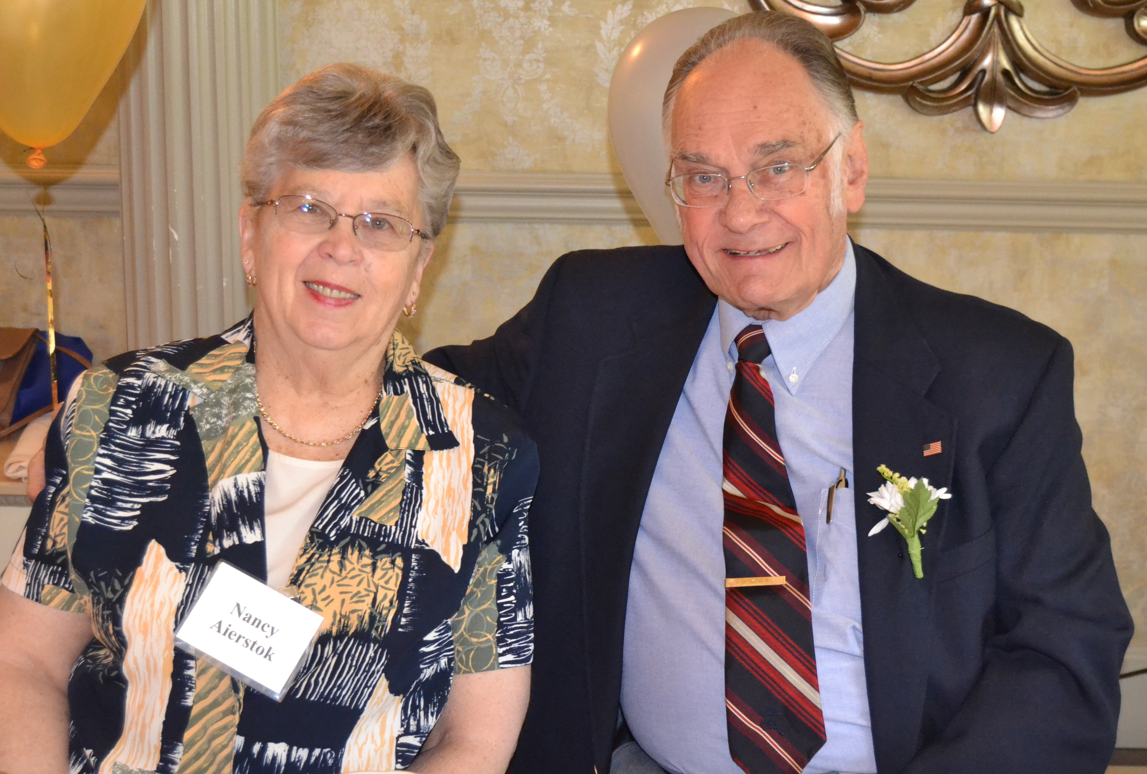 Nancy & Dr. William Aierstok - 2016 Senior Couple of the Year