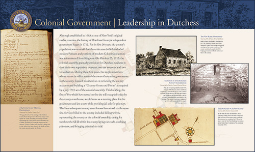 Colonial Government - Leadership in Dutchess image