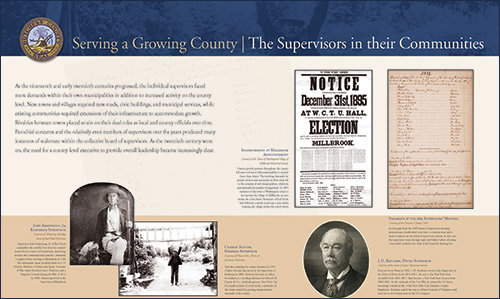 Serving a Growing County Supervisors in their Communities image