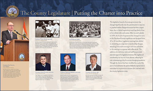 County Legislature - Putting the Charter into Practice image