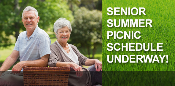 Summer Senior Picnic Schedule Underway