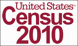 US Census 2010 graphic