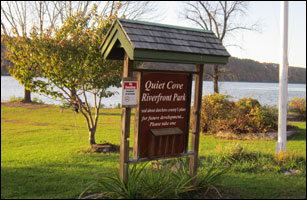 Enjoy Dutchess County's Quiet Cove Riverfront Park