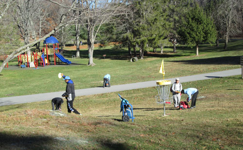 Dutchess County Parks - Getting Ready for Disc Golf