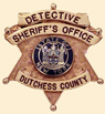 Sheriff's Office Detective Badge