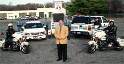 Sheriff Anderson and members of Traffic Safety Unit