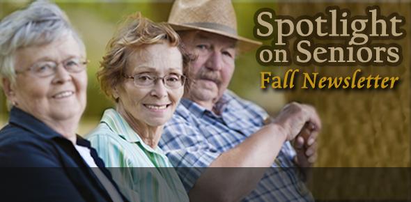 Office for the Aging's Spotlight on Seniors Newsletter
