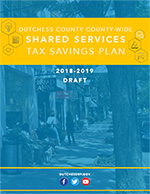 Dutchess County-Wide Shared Services Tax Savings Plan - Cover