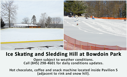 Ice Skating and Sledding Hill at Bowdoin Park