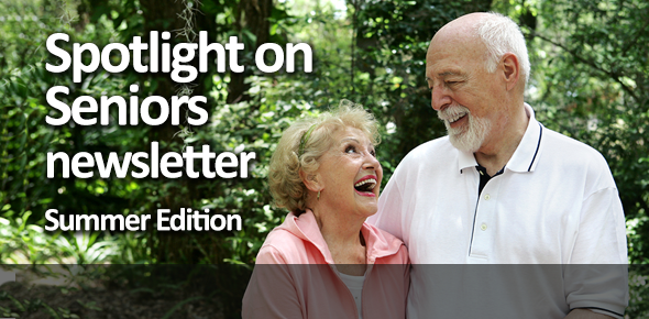 Office for the Aging's Spotlight on Seniors Newsletter, Summer 2014 Edition