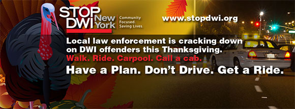 Law Enforcement is cracking down on DWI offenders this Thanksgiving