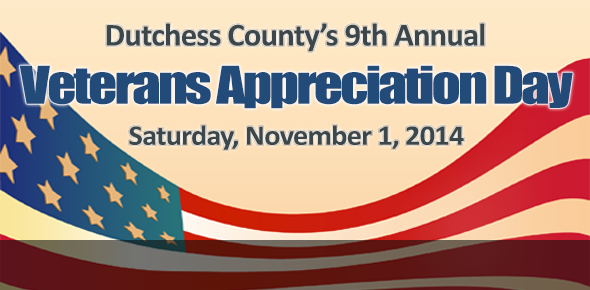 Veterans Appreciation Day, Saturday, November 1