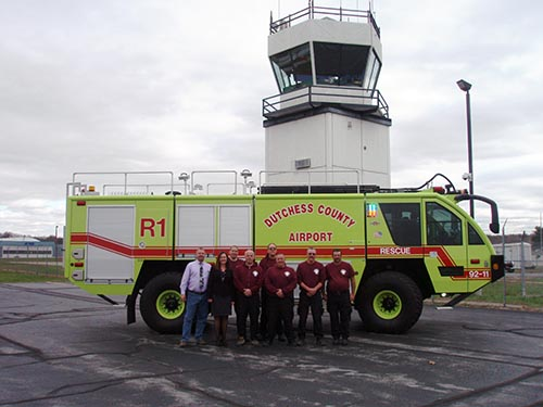 Hudson Valley Regional Airport group photo