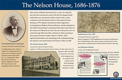 Nelson House Park - panel 1 of 3.  Click to download a high quality pdf of the panel