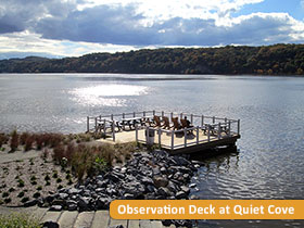 Observation Deck at Quiet Cove