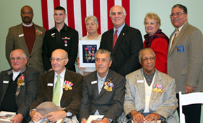 Veterans Appreciation Day ~ Veterans awarded medals